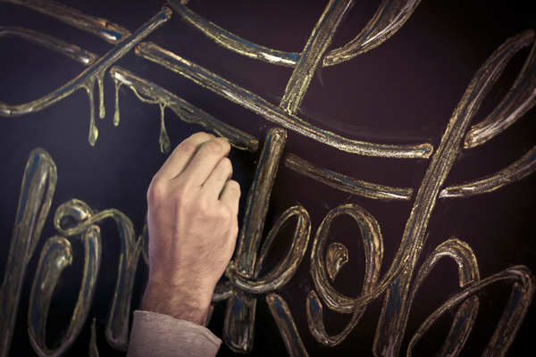 lettering y caligrafía