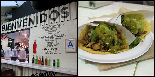 Chelsea Market Tacos Collage