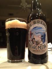 Port Brewing Board Meeting Brown Ale by BeerHyped.com