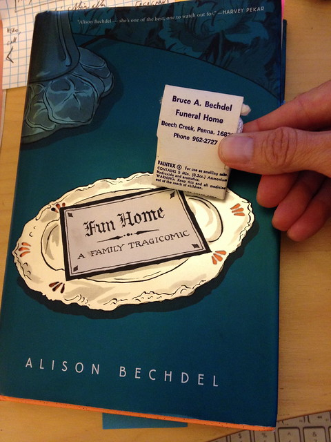 Fun Home by Alison Bechdel - Essay Example