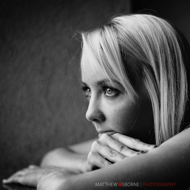 Leica M9 B&W Portrait