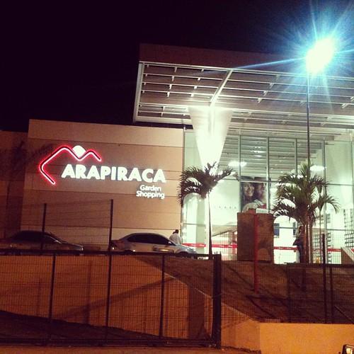 Mais uma vez na inauguração do #arapiracagardenshopping