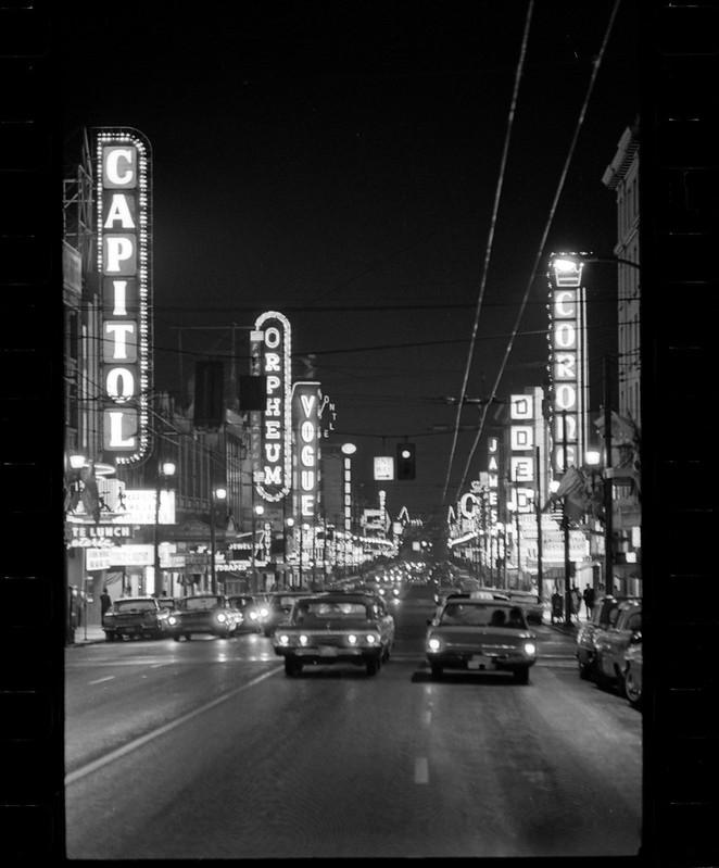 Granville at night VPL 43347