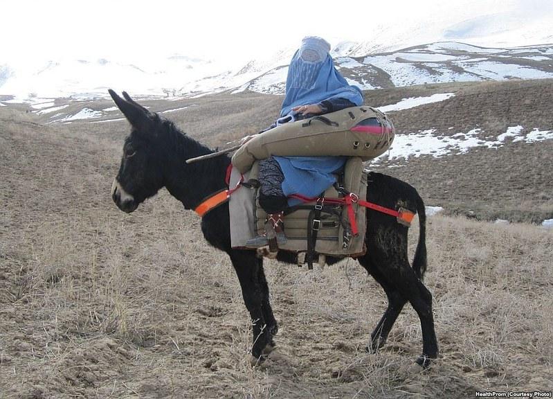 Donkey Ambulance ... Afghanistan