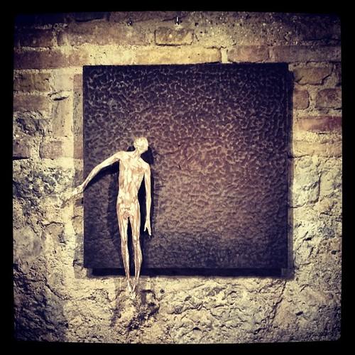 Buonanotte. .. #isculpture #artgallery #sangimignano #tuscany