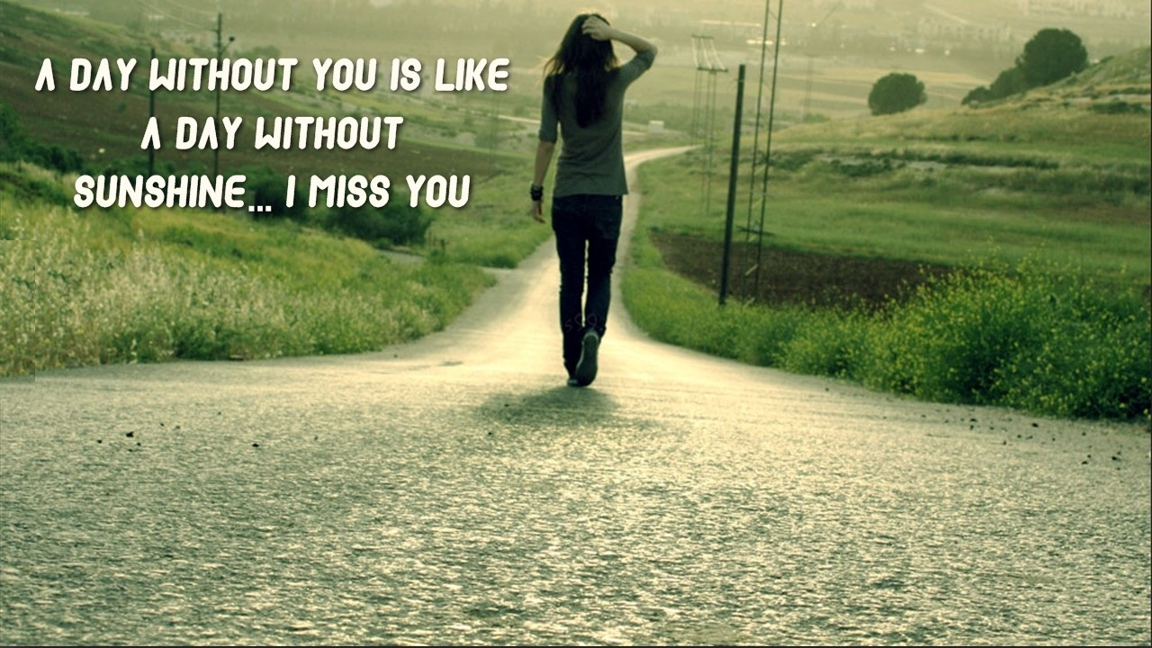 Wallpaper download i miss you - Download A Day Without Sunshine I Miss You Wallpaper In High Resolution