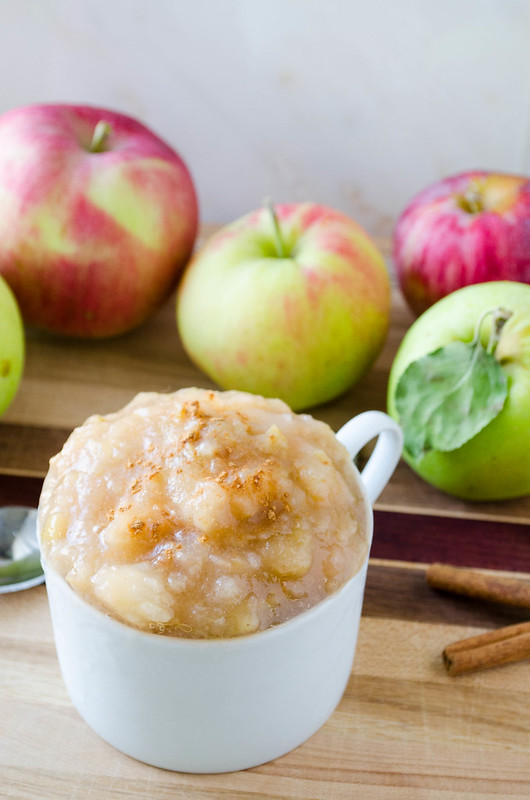 Slow Cooker Applesauce (No Sugar Added)