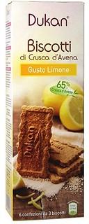 Biscotti di Crusca d'Avena Gusto Limone
