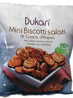 Mini Biscotti Salati di Crusca d'Avena