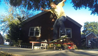 Philip on His Skateboard-001