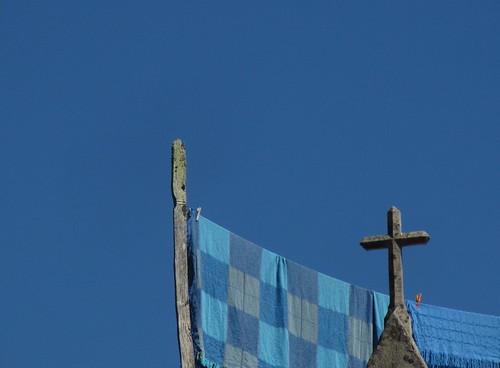El cielo, cobertor azul by JoseAngelGarciaLanda