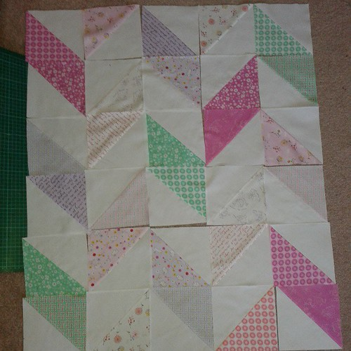 2nd quilt, choice of this layout or....
