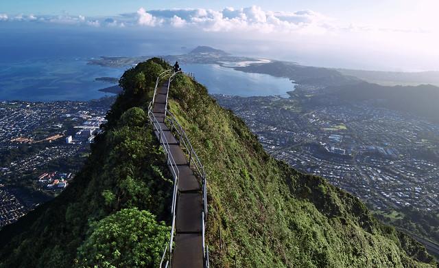 Hawaii S Forbidden Stairway To Heaven Flickr Blog