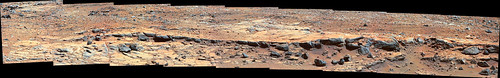 Curiosity sol 439 Cooperstown MastCam right mosaic