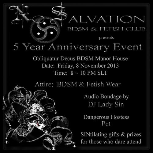 No Salvation ~ 5 Year Anniversary Event by Kara 2