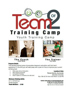 Team of 2 Youth Training Camp