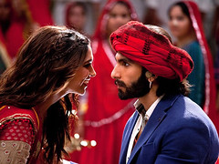 [Poster for Ram-Leela with Ram-Leela]