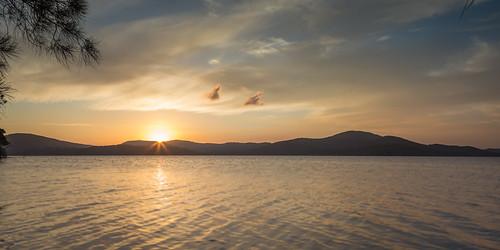 Wallis Lake - Sunset