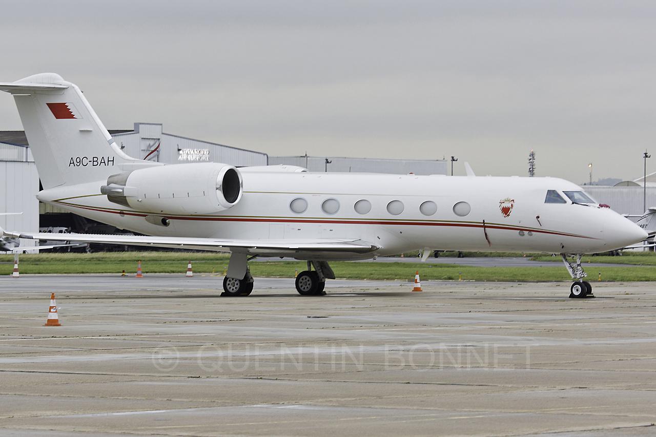 Bahrain Royal Flight Gulfstream Aerospace G-IV Gulfstream IV-SP A9C-BAH