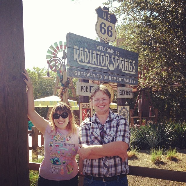 Greetings from Radiator Springs!