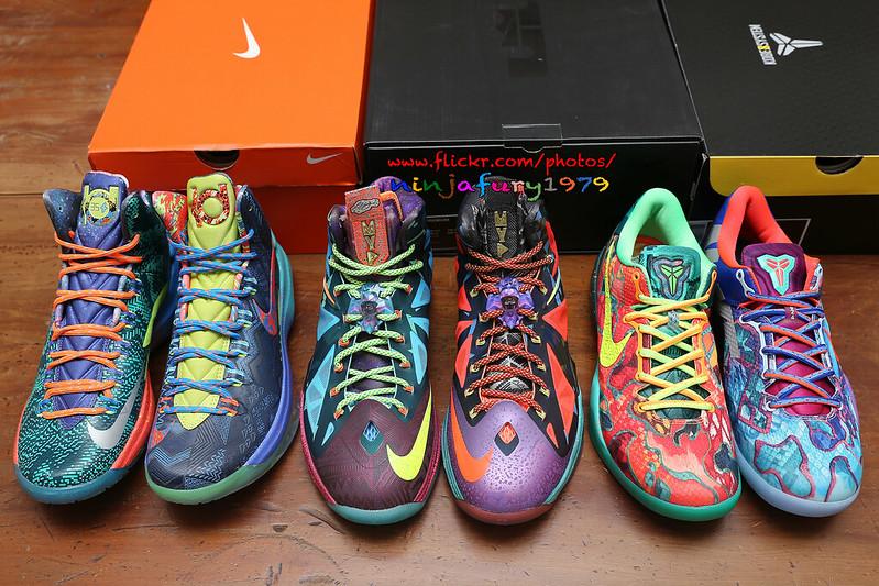 sports shoes b618e b75ee 20131122 NIKE WHAT THE MONEY PACK (KD V 5、LEBRON X 10、KOBE VIII 8 PREMIUM)