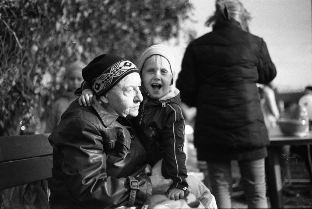 Canon Rebel XS- New Scan -  Granny and Child