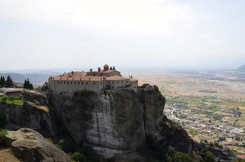 greece monastery meteora griekenland thessalie