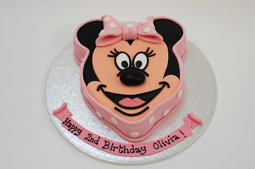 Minnie Mouse Birthday Cake Bradford