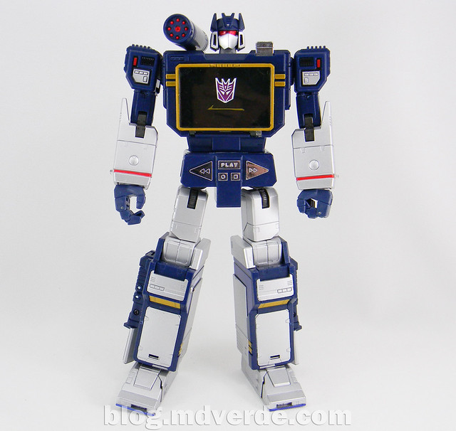 Transformers Soundwave Masterpiece - modo robot