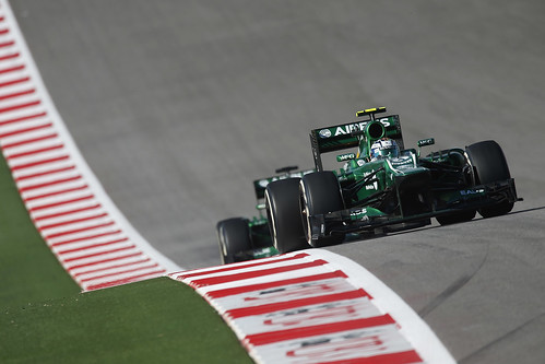 United States GP - Caterham F1 Team