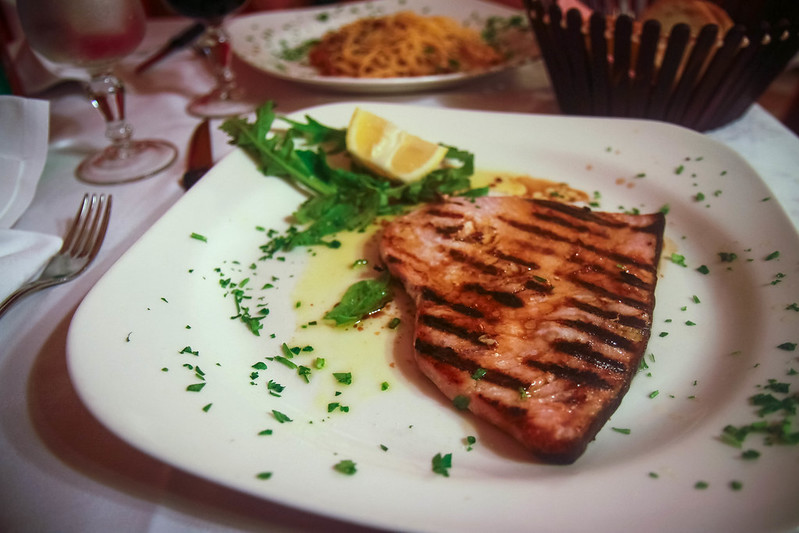 spada (grilled swordfish)