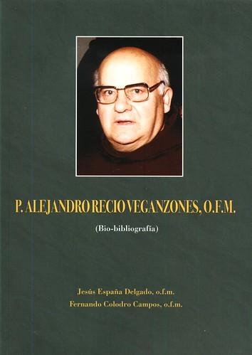 Portada del libro P. Alejandro Recio