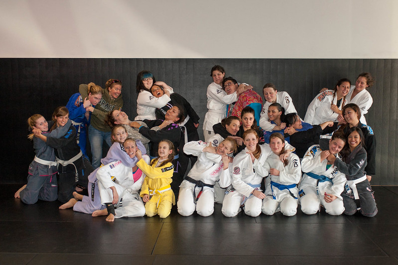Women's Open Mat/Sleep Over on Saturday, March 29th, 2014		 (Demo)