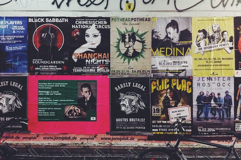 Posters of Berlin: Documentando as Ruas da Cidade