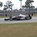 Juan Pablo Montoya on course for the Team Penske test at Sebring
