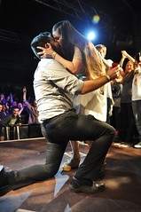 Battle rapper proposes to girlfriend live on stage in front of 1,000 fans