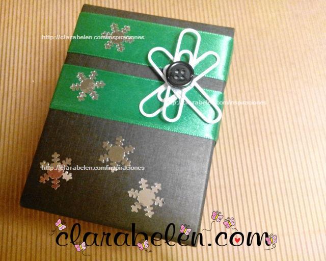 Forma sencilla de envolver un regalo de hombre en Navidad