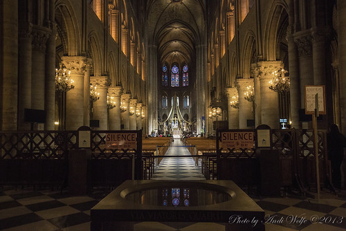 Notre Dame Cathedral by andiwolfe