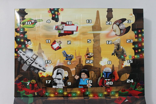 LEGO Star Wars 2013 Advent Calendar (75023) - Day 1 | The Brick Fan