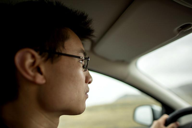 driving road trip