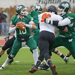 13-131 -- NCAA playoff football game vs Wartburg
