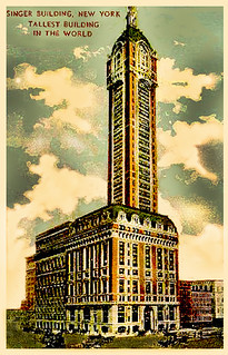 World's Tallest Building, New York,  1908