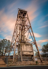 The Central Eureka Mining Company Head Frame - Sutter Creek, CA