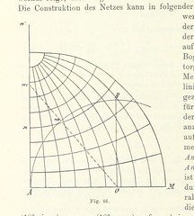 "British Library digitised image from page 158 of ""Lehrbuch der Landkartenprojektionen"""