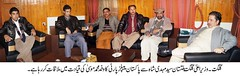 PPP leaders and workers called on the Chief Minister