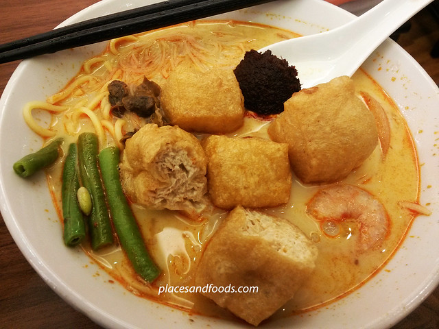 penang road chendul curry mee