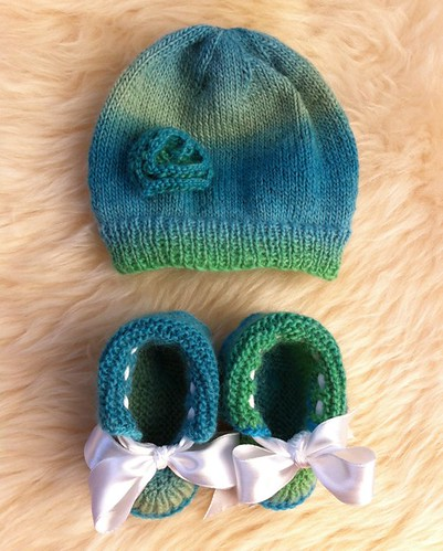 Galapagos Newborn Hat by Beatrixknits