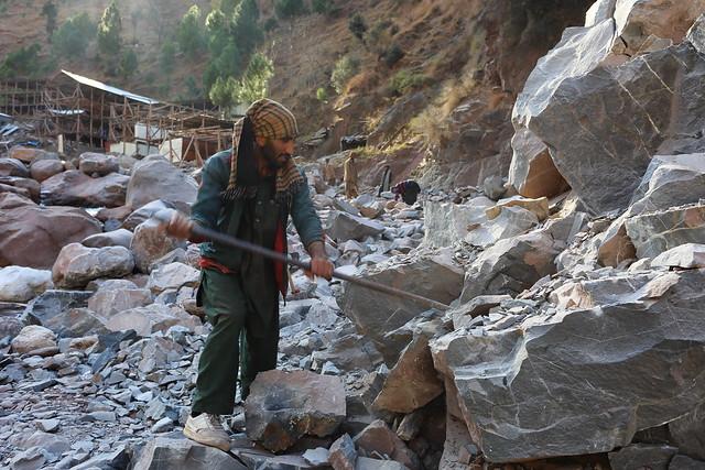 Baring rock Panjkot Nulluh, Kashmir
