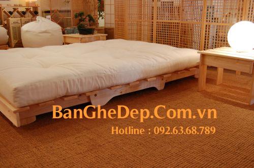 Giường Futon   ZIP nội thất   Giường Gấp SOFA   100% Gỗ Sồi giá rẻ - 26