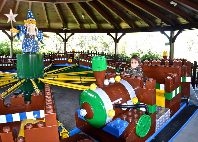 Legoland, Florida - Train ride